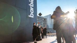 Graduation at The Barbican centre